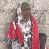 Barei Dubad Ibrahim, réfugiée somalienne, avec son fils, au camp de réfugiés de Kharaz dans le gouvernorat de Lahej, au Yémen (photo d'archives).