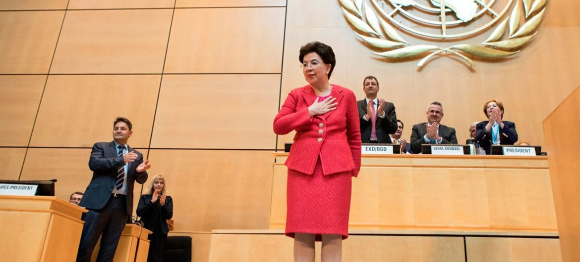 At the 70th World Health Assembly in Geneva, Margaret Chan makes her final appearance as the  Director-General of the World Health Organization (WHO).