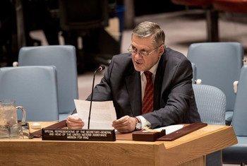 أرشيف: الممثل الخاص للأمين العام في العراق يان كوبيش في مجلس الأمن الدولي.
