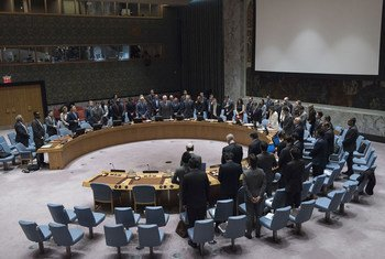 The Security Council observed a moment of silence for the victims of the 26 May attack by gunmen on a bus carrying Coptic Christians in Egypt.