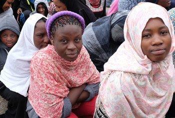 Centro de detención de migrantes en Libia. Foto: Organización Internacional para las MIgraciones (OIM)