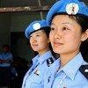 Женщины-полицейские из Миссии ООН в Тиморе-Лешти