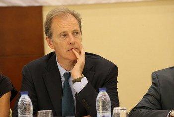 Le Sous-Secrétaire général aux droits de l'homme, Andrew Gilmour (archives). Photo MINUSCA