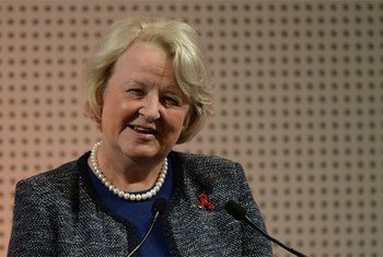 Jan Beagle of New Zealand, Under-Secretary-General for Management.
