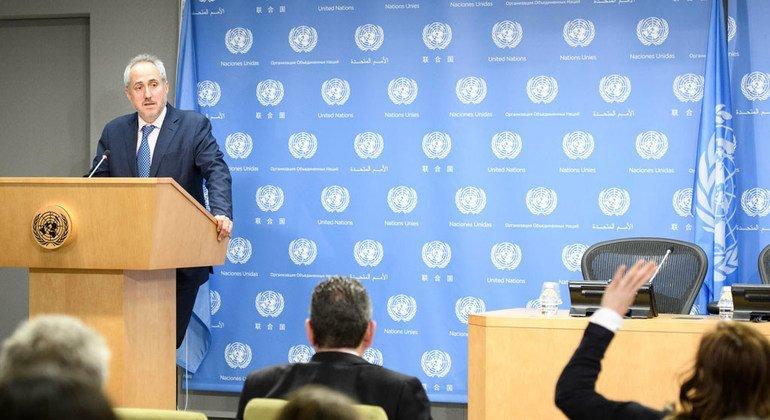 La ONU responde a Guaidó que está lista para reforzar la ayuda humanitaria en Venezuela
