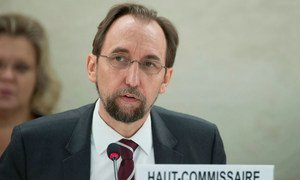 Zeid Ra'ad Al Hussein, UN High Commissioner for Human Rights.