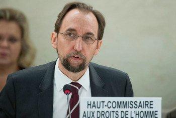 Le Haut-Commissaire des Nations Unies aux droits de l'homme, Zeid Ra'ad Al Hussein.