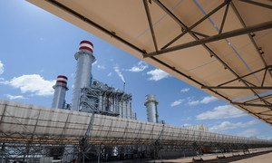 Ain Beni Mathar Integrated Combined Cycle Thermo-Solar Power Plant.