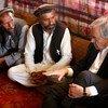 António Guterres se reúne con desplazados afganos en las afueras de Kabul Foto:UNAMA/Fardin Waezi