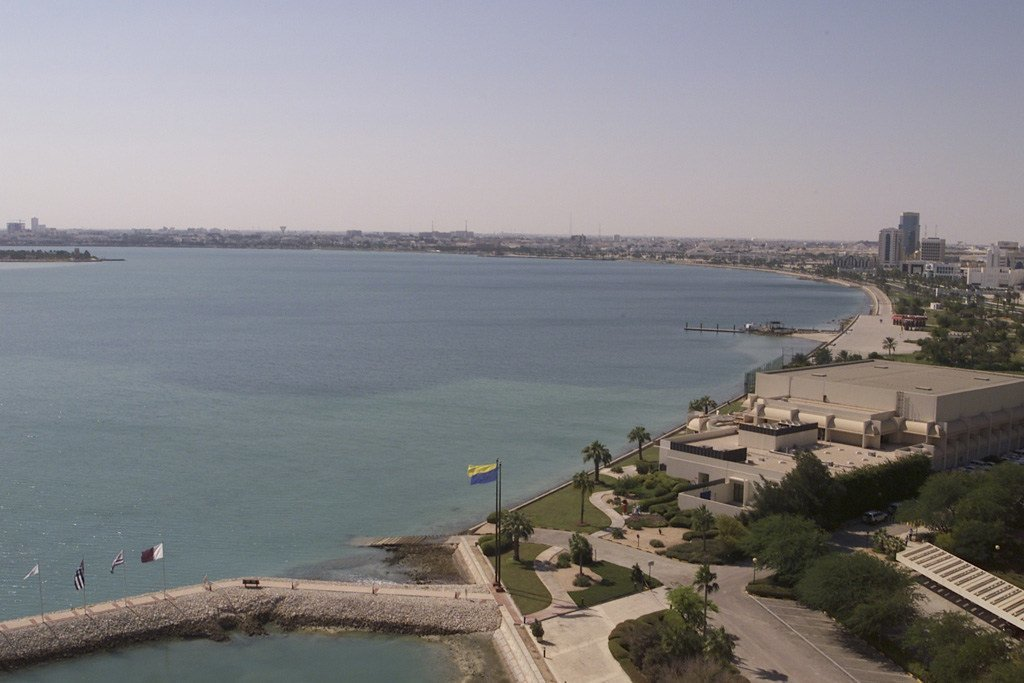 صورة من الأرشيف للعاصمة القطرية الدوحة.