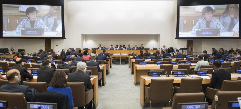 La conferencia de la ONU para negociar el Tratado de Prohibición Completa de Ensayos Nucleares. Foto archivo: Eskinder Debebe
