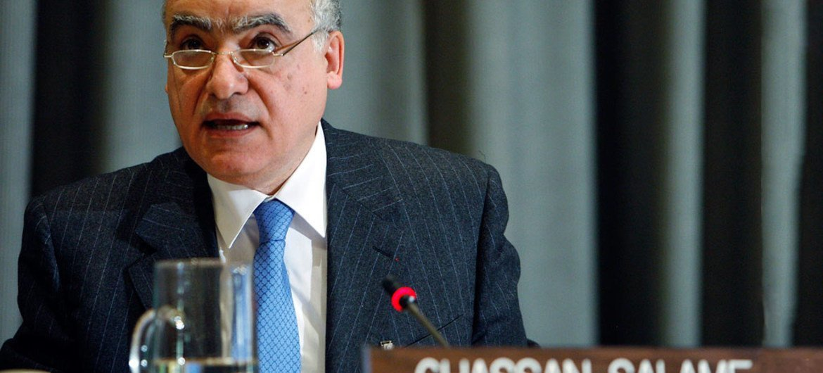 Ghassan Salamé of Lebanon, newly appointed Special Representative and Head of the UN Support Mission in Libya.