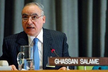 غسان سلامة، الممثل الخاص للأمم المتحدة لليبيا ورئيس بعثة الأمم المتحدة للدعم في ليبيا.