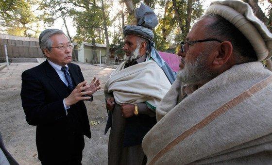 Tadamichi Yamamoto disse que fim da guerra trará uma esperança real para um futuro próspero no Afeganistão.