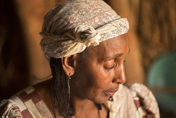 Мужа этой женщины убили в ходе конфликта в ЦАР, как и девятерых из 14 ее детей