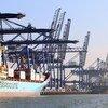 Felixtowe, el mayor puerto de contenedores del Reino Unido.