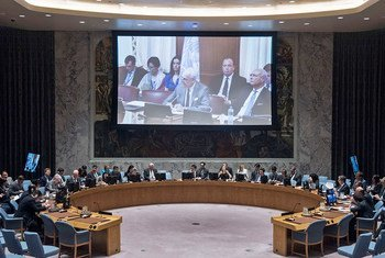 Security Council meeting on Middle East (Syria).