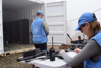Observadores de la Misión de la ONU en Colombia. Foto: Misión de la ONU en Colombia