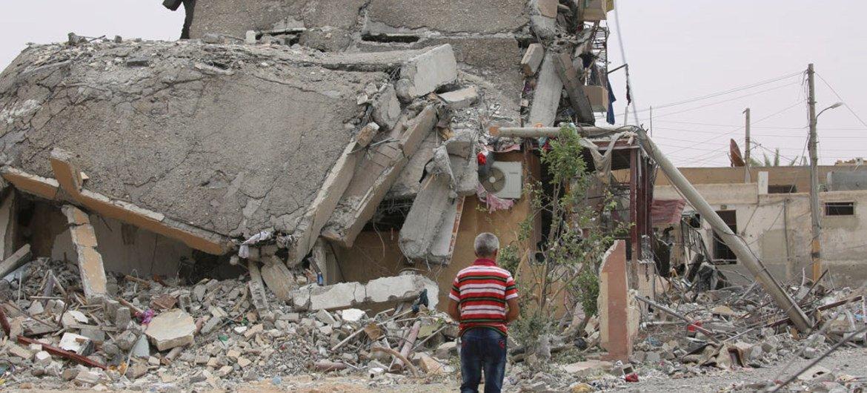 Ракка, Сирия. Фото ЮНИСЕФ/Сулейман