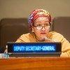 联合国常务副秘书长阿米娜·默罕默德。