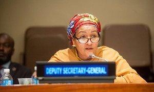 La Vice-Secrétaire générale des Nations Unies, Amina J Mohammed (archives). Photo ONU/Kim Haughton
