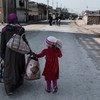 الصراع في الموصل دفع بالعديد من المدنيين إلى  الفرار.
