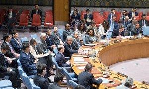 Le Sous-Secrétaire général aux affaires politiques, Miroslav Jenca, informant le Conseil de sécurité.