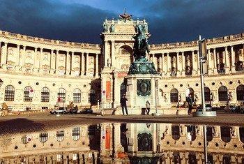 Bibliothèque nationale, Vienne, Autriche.