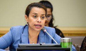 Elayne Whyte Gómez, Permanent Representative of Costa Rica to the UN Office at Geneva (UNOG) and President of the United Nations Conference to Negotiate a Legally Binding Instrument to Prohibit Nuclear Weapons.