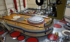 国际原子能机构验证捷克共和国一处核电站内的核材料。图片来源:原子能机构