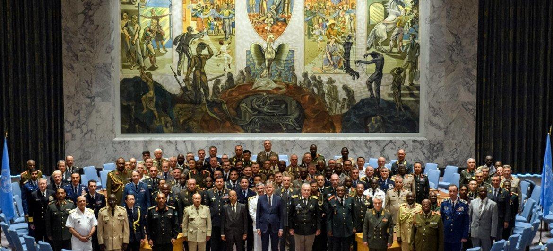 Главы  Генеральных штабов вооруженных сил государств-членов Организации  в штаб-квартире  ООН в Нью-Йорке
