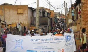 Madagascar - Human security project for the prevention of violence and vulnerability reduction for the most vulnerable inhabitants of Antananarivo 24 October 2012.