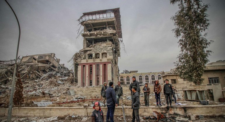 UN says 'many humanitarian achievements', one year after ouster of ISIL from Mosul