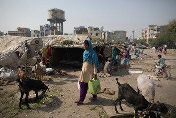 Состояние бедных районов многих индийских городов плачевно, но правительство решительно настроено добиться улучшения жизни своих горожан