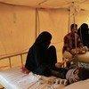 من الأرشيف: ارتفاع عدد المصابين بالكوليرا في اليمن. الصورة: منظمة الصحة العالمية.