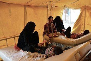 В результате двухлетнего конфликта в Йемене на фоне серьезнейшего гуманитарного кризиса распространяется эпидемия холеры Фото ВОЗ