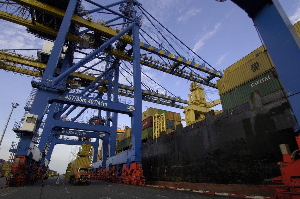 非洲加纳的一个港口。