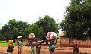 Les déplacements massifs de population constituent un problème majeur en République centrafricaine (archives).