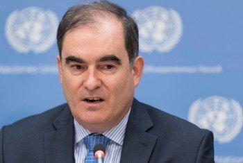 John Ging, Directeur de la division des opérations du Bureau des Nations Unies pour la coordination des affaires humanitaires (OCHA). Photo ONU