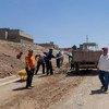 En el este de Mosul, 4.000 trabajadores están ayudando a limpiar la ciudad. Foto: PNUD / Ahmed Swadi