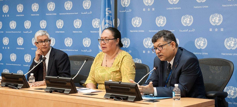 Fekitamoeloa Katoa Utoikamanu, alta representante de la ONU para los países menos desarrollados, países sin litoral y pequeños Estados insulares. Foto: ONU