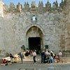 باب العامود، أحد المداخل الرئيسية لمدينة القدس القديمة. صورة الأمم المتحدة / جون إسحاق