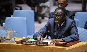 Michel Kafando, Envoyé spécial du Secrétaire général pour le Burundi, devant le Conseil de sécurité