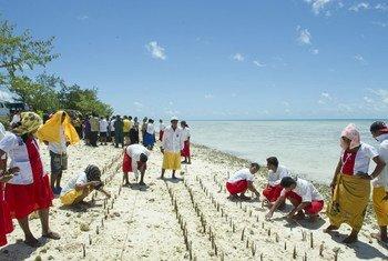 Островное государство Кирибати в Тихом океане - под угрозой затопления. Для развития экономики необходимы инвестиции.
