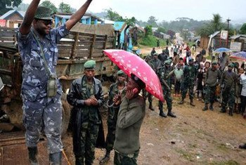 Wanted for crimes against humanity, Ntabo Ntaberi Sheka, founder and leader of Nduma defense of Congo (NDC), surrendered to MONUSCO in North Kivu, Democratic Republic of the Congo (DRC).