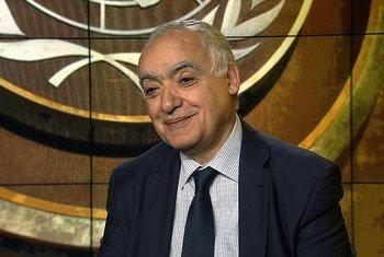 Ghassan Salamé, representante especial del Secretario General para Libia y jefe de la Misión de la ONU en el país. Foto: captura de pantalla