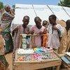 A market rehabilitation project in Nigeria.