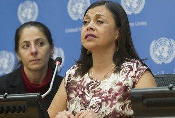 María Soledad Cisternas, enviada especial del Secretario General para cuestiones de discapacidad y accesibilidad.