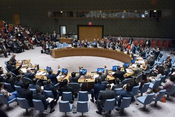 The UN Security Council unanimously adopts resolution on preventing terrorists from acquiring weapons.