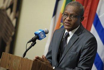 Le Représentant spécial du Secrétaire général pour la République démocratique du Congo (RDC), Maman Sidikou (archives). Photo ONU/Manuel Elias